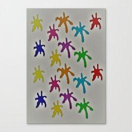 Dirty Splatt Canvas Print