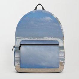 Let the Sea Foam Roll-Ormond Beach, Florida Backpack