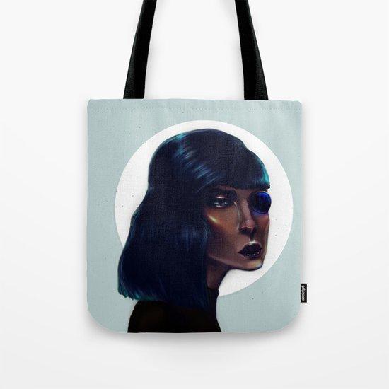 Mod Monocle Tote Bag