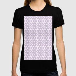 Sea Urchin - Light Purple & White #922 T-shirt