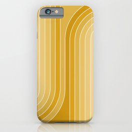 Gradient Curvature VII iPhone Case