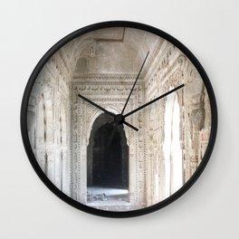 Inside the Palace Wall Clock