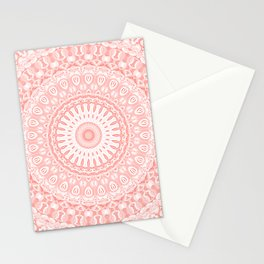 Living Coral Mandala Stationery Cards
