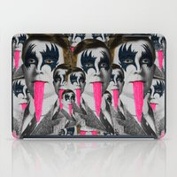 kiss iPad Cases featuring kiss by DIVIDUS DESIGN STUDIO