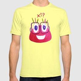Cute Geek Mathematician Watercolor Candy T-shirt