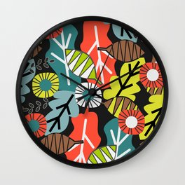 They fall in autumn Wall Clock