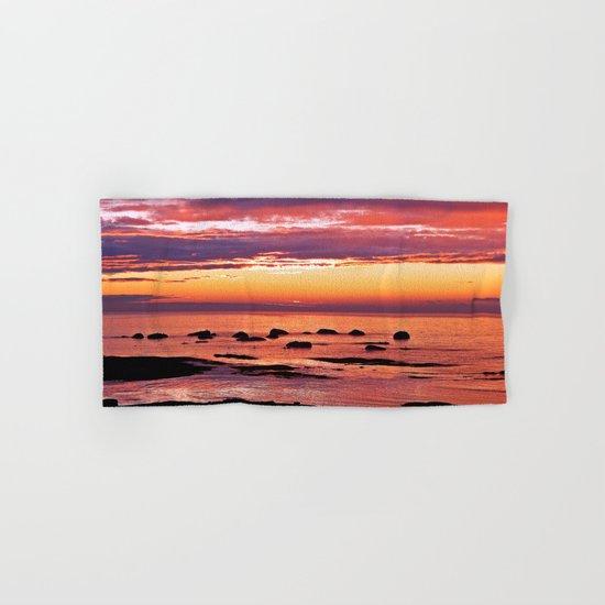Sainte-Anne-Des-Monts Signature Sunset Hand & Bath Towel