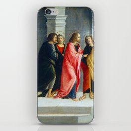 Vincenzo Civerchio Christ Instructing Peter and John to Prepare for the Passover iPhone Skin