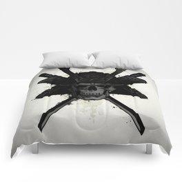 Samurai Skull Comforters