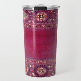 Shakhrisyabz  Southwest Uzbekistan Suzani Embroidery Print Travel Mug
