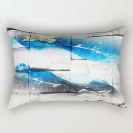 Reading is dreaming with open eyes Rectangular Pillow