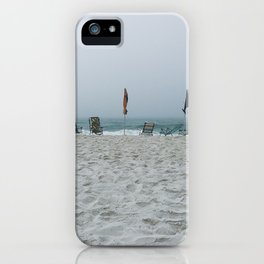 Deserted Beach iPhone Case