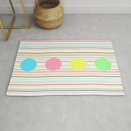 Notes and sound Rug