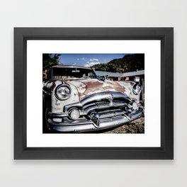 Classic Rust Framed Art Print