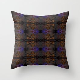Grodie Skulls Throw Pillow