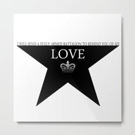 Hamilton: Love Metal Print