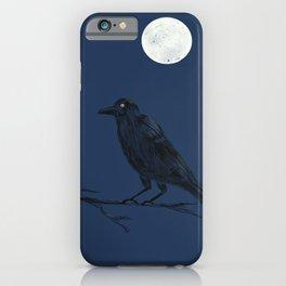 Night Crow iPhone Case