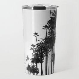 Los Angeles Black and White Travel Mug