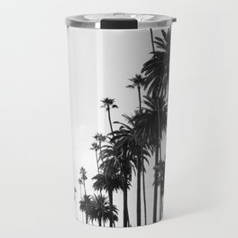 Los Angeles Black and White Travel Mug