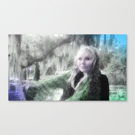 "VAMPLIFIED ""Willow Wisp"" Canvas Print"