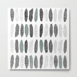 Nordic Pattern No. 22 Metal Print