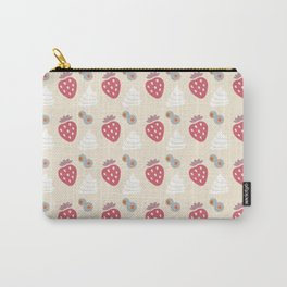 Berries and Cream (light) Carry-All Pouch