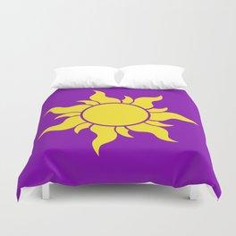 Rapunzel's Golden Sun Duvet Cover