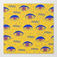 Eyesz II Canvas Print