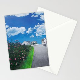 Walk to the Beach Stationery Cards