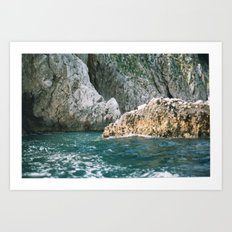 Capri 2 Art Print