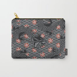 Hidden Dragon / Oriental dragon design Carry-All Pouch