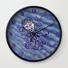 Zephyr Knot Wall Clock