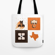 Austin, Texas Orange Tote Bag