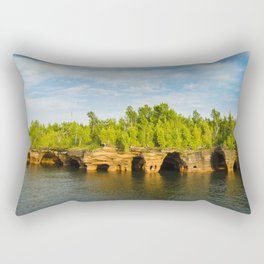Sea caves #7 Rectangular Pillow
