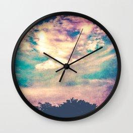 If I Had Wings Wall Clock