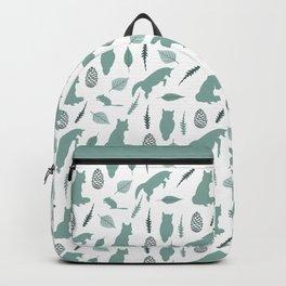 Winter Fox (Moss) Backpack