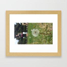 lonely girls Framed Art Print