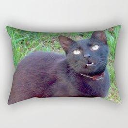 Everyday I'm Meowing Rectangular Pillow