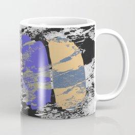 All 4 One - Abstract, textured artwork Coffee Mug