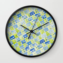 Tilted Order Wall Clock