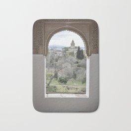 Window to Granada Bath Mat
