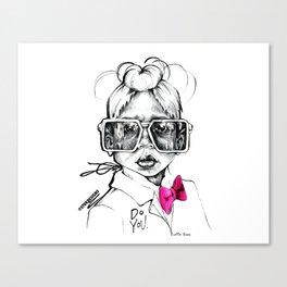 #STUKGIRL Penny Canvas Print