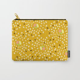 Sushi Mustard Yellow Carry-All Pouch