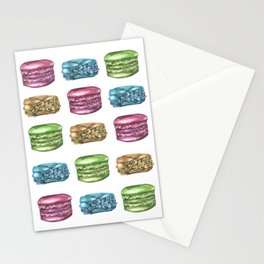 Colorful Macaroon Variety Stationery Cards