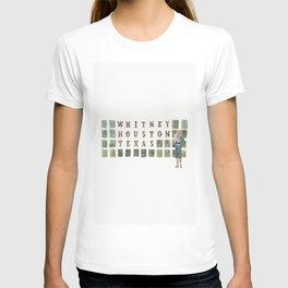 Whitney Houston, Texas T-shirt