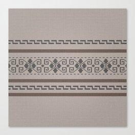 The Big Lebowski Cardigan Knit Canvas Print