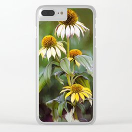 Black Eyed Susan Clear iPhone Case
