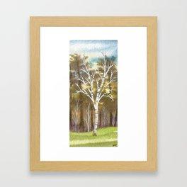 Briars Golf Course, 10th Hole, Nov 12 Framed Art Print