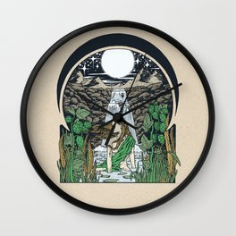PRIMORDIAL GODDESS Wall Clock