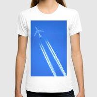 airplane T-shirts featuring Airplane by Uldis Ķēniņš
